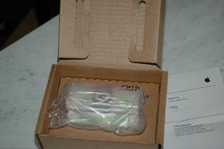 Auspackzeremonie beim iPod shuffle2.