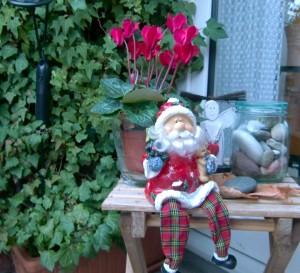 Der Weihnachtsmann macht Pause. Deshalb wünsche ich einen schönen 3. Advent
