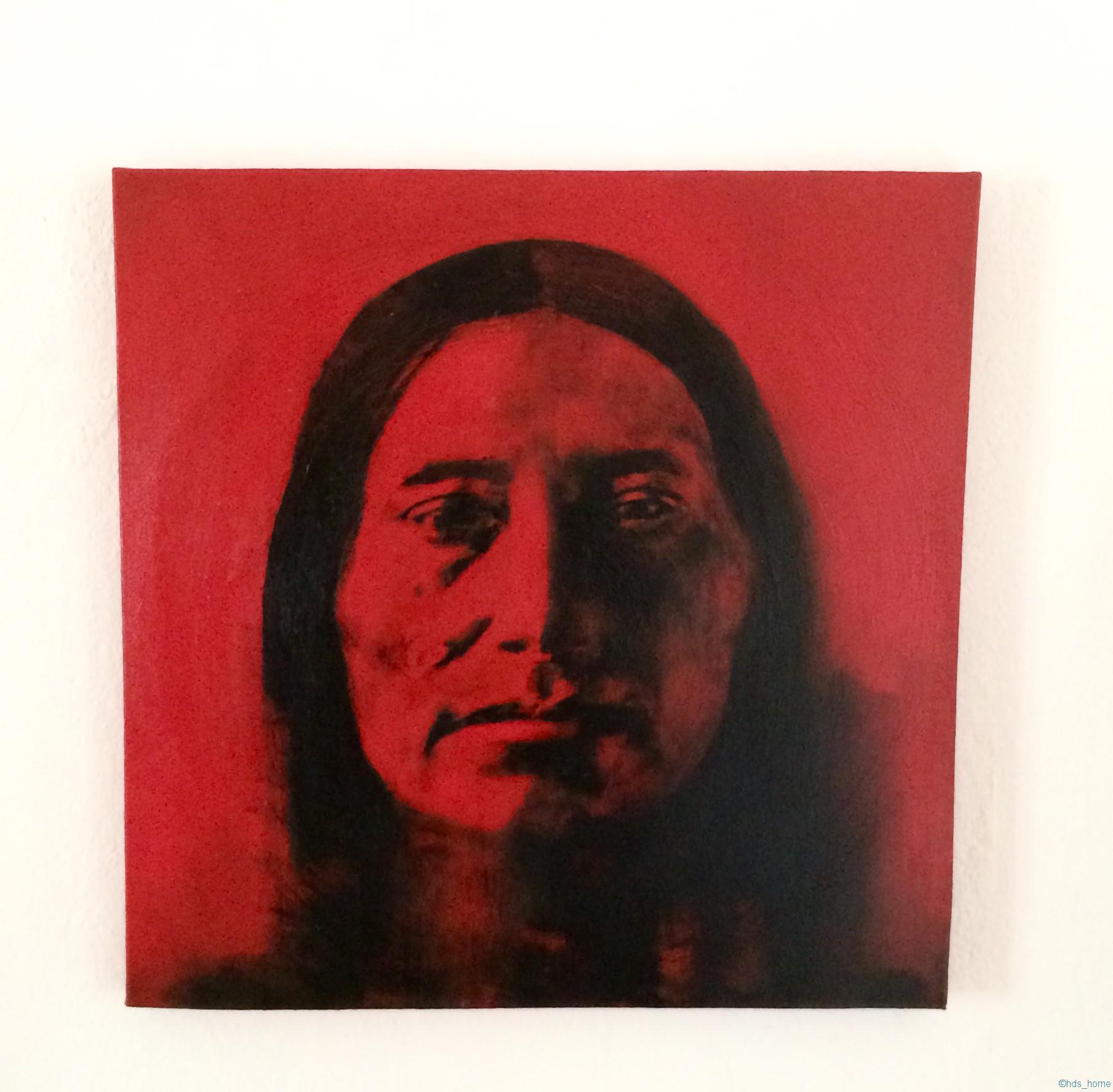 Indianer  gemalt von Sandra Schier
